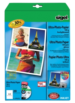 InkJet glossy photo papiri